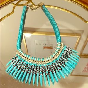 BaubleBar Turquoise Statement Necklace